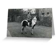 Mum, circa 1948. Greeting Card