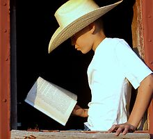 Cowboy Literature by angellynnhill