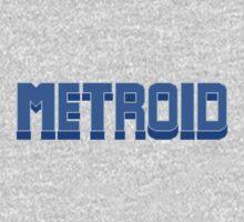 NES Metroid Title  Kids Clothes