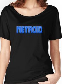 NES Metroid Title  Women's Relaxed Fit T-Shirt