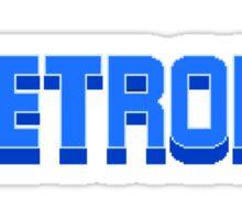 NES Metroid Title  Sticker
