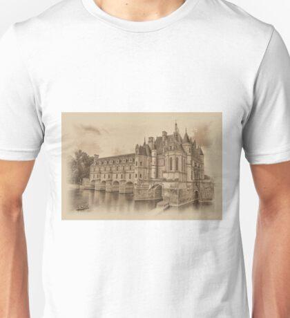 Chateau de Chenonceau Unisex T-Shirt