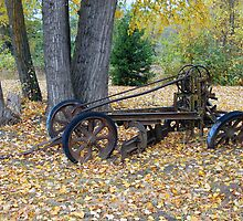Retired plow by Bob Hortman