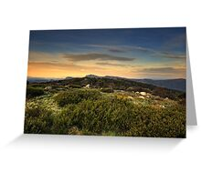 High Country Evening Greeting Card