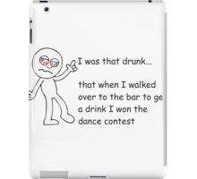 Drunk Funny Stickman iPad Case/Skin