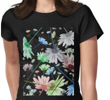 Random Daisy Tshirt Womens Fitted T-Shirt