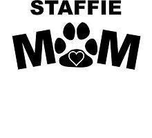 Staffie Mom by GiftIdea