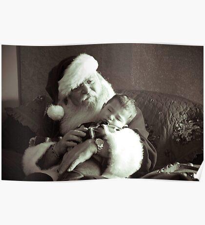 Santa and Babe Poster