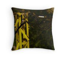 Mega-infra-capacity Throw Pillow