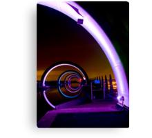 Falkirk Wheel at Night Canvas Print