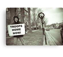 Troops Canvas Print