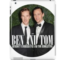 Benedict and Tom iPad Case/Skin