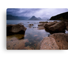 The Cullins from Elgol Canvas Print