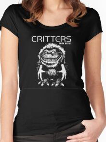 Critters T-Shirt Women's Fitted Scoop T-Shirt
