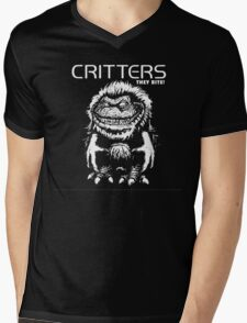 Critters T-Shirt Mens V-Neck T-Shirt