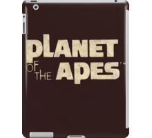 Planet of the Apes Vintage iPad Case/Skin