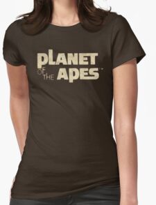 Planet of the Apes Vintage Womens Fitted T-Shirt