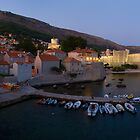 City of Dubrovnik at dusk by Ivan Coric