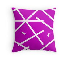 No escaping across the lines Throw Pillow