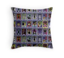 Persona Cards Throw Pillow