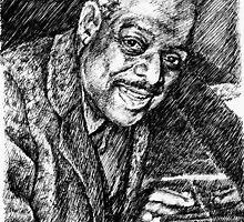 Jazz portraits-Count Basie  by Francesca Romana Brogani