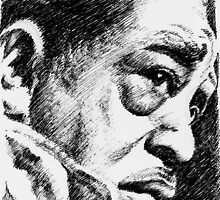 Jazz portraits-Duke Ellington by Francesca Romana Brogani