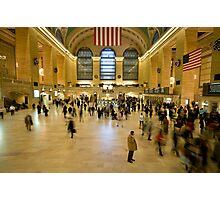 Christmas Rush - Grand Central Station, NY Photographic Print