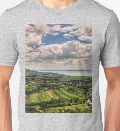 a stunning Hungary landscape Unisex T-Shirt