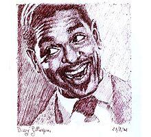 Jazz Portraits-Dizzy Gillespie Photographic Print
