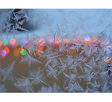 Frosted Window Photographic Print