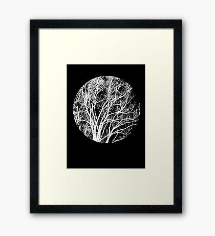 Nature into Me Framed Print
