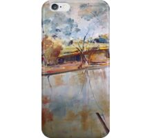 On the banks of the Goulburn River at Seymour VIC Australia iPhone Case/Skin