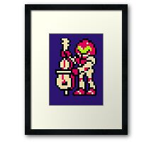 Metroid Musician from Tetris Framed Print