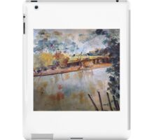 On the banks of the Goulburn River at Seymour VIC Australia iPad Case/Skin