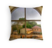 Window - Apartment Building, Darlinghurst, Sydney, Australia Throw Pillow