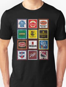 Beer Brands Vintage T-Shirt