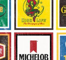 Beer Brands Vintage Sticker