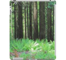 Fern And Trees Composition iPad Case/Skin
