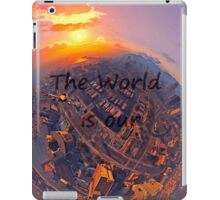 The world is our iPad Case/Skin