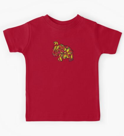 Umbrellaphant Raspberry Splice Kids Clothes