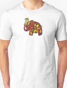Umbrellaphant Raspberry Splice Unisex T-Shirt