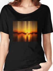Nature Pixels No 19  Women's Relaxed Fit T-Shirt