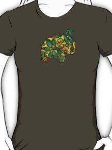 Umbrellaphant Lime Splice T-Shirt