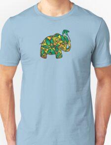 Umbrellaphant Lime Splice Unisex T-Shirt