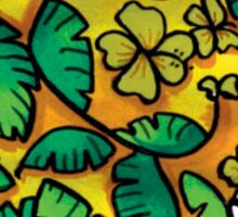 Umbrellaphant Lime Splice Sticker