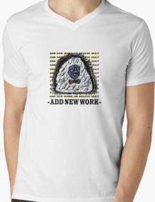 Serie 3/4. Nº 9 Mens V-Neck T-Shirt