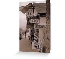 The Mother Road, Route 66. Greeting Card