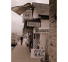 The Mother Road, Route 66. Photographic Print