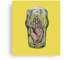 Hail The Beer Canvas Print