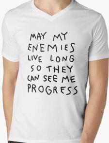 May my enemies live long... Mens V-Neck T-Shirt
